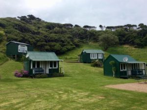 Cabins at Ruapuke Camp